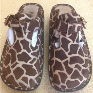 Alegria Giraffe Print Shoes
